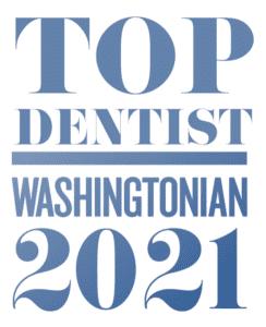 Washingtonian top dentist logo